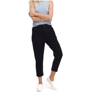 AG ADRIANO GOLDSCHMIED Rhom pleated cropped pants